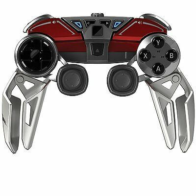 Manette mobile hybride mad catz l.y.n.X.9 pour PC & appareils android - rouge