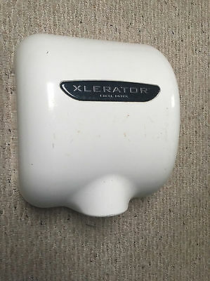 USED XLERATOR XL-W Automatic High Speed Hand Dryer 12.5 A, 110/120 WHITE