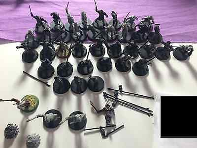 Games Workshop Lord Of The Rings 40 Uruk Hai Warriors With Pikes Plastic