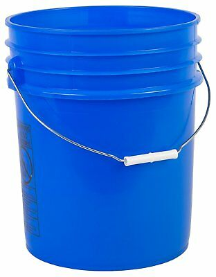 Hudson Exchange Premium 5 Gallon 90 Mil HDPE Bucket with Handle, Multiple Colors