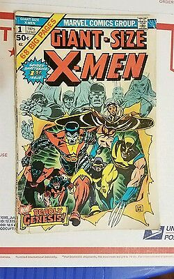 1975 Giant Size X-Men #1 Marvel 1st New X-Men 2nd Wolverine 2.5/3 VG Key Issue