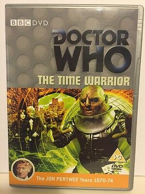 Doctor Who Classic Series - Dvd - The Time Warrior - Jon Pertwee Years