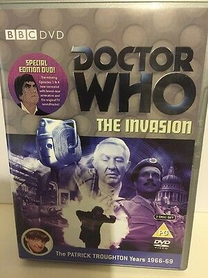 Doctor Who Classic Series - Dvd - The Invasion - Patrick Troughton Years
