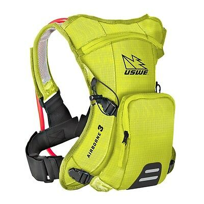 USWE Airborne 3 Hydration Pack 3L - Crazy Yellow