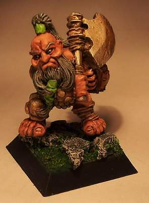 Rare OOP Confrontation - Tir Na Bor Dwarf Warrior #7 -  perfectly painted