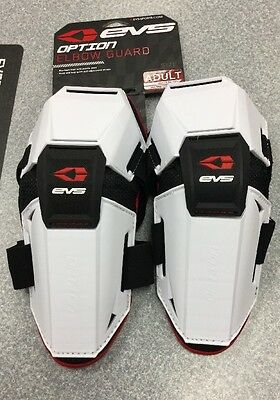 Evs Adult Elbow Guards White