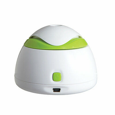 Travel Mate Personal Ultrasonic Cool Mist USB Humidifier, Quiet, Filter Free