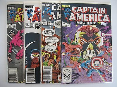 *CAPTAIN AMERICA #288-331 LOT (44 books)
