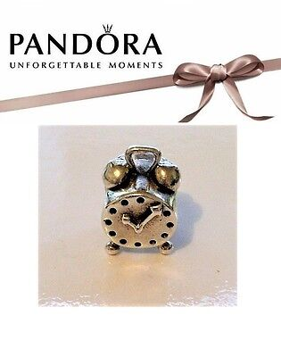 RETIRED Authentic Pandora Sterling Silver ALARM CLOCK Charm – 790449