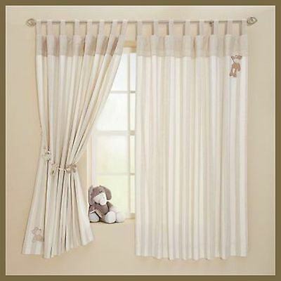 BNWT MAMAS AND PAPAS ONCE UPON A TIME CURTAINS 132 x 160 CM UNISEX FULLY LINED