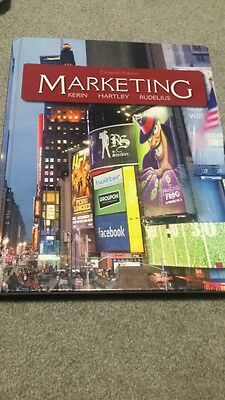 Marketing (11th edition) by Roger Kerin, Steven Hartley, William Rudelius