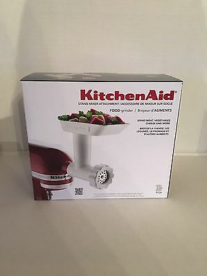 New KitchenAid FGA Food Grinder Attachment for Stand Mixers