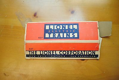 Lionel 637 Coach Box Only