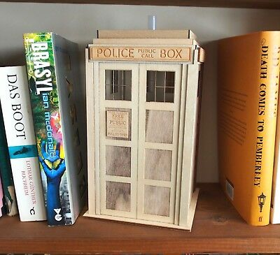 Police Box Tardis Style Night Light Lamp Dr Doctor Who