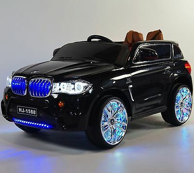 Kids Ride On Toy BMW X5 style(BJ1588)Black Ride on Car for children 12V With R/C