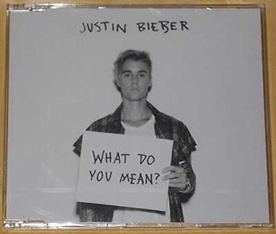 Justin bieber what do you mean CD  2 tracks free delivery