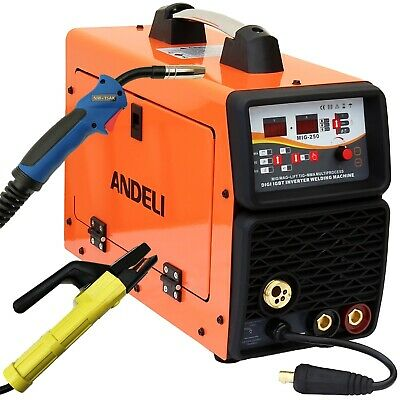200Amp Mig(Mag)/mma(Arc/stick) Dc Inverter Welder Digital Display + Accessories