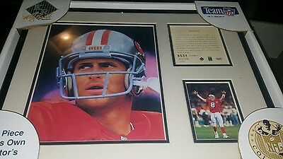 STEVE YOUNG FRAMED Kelly Russell Lithograph Print Original Art LIMITED EDITION