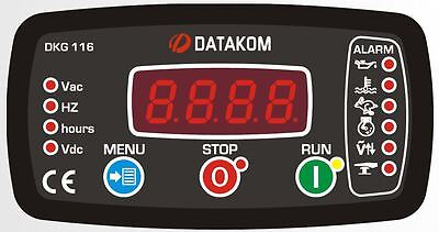 DATAKOM DKG-116 Generator Manual and Remote Start Controller Panel