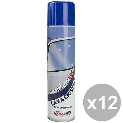 START Set 12 Spray Lavavetri Da 400 Ml Cura Pulizia E Lavaggio Automobile