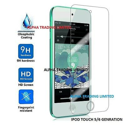 Ipod Touch 5Th 6Th 5 / 6 Gen Generation Genuine Tempered Glass Screen Protector