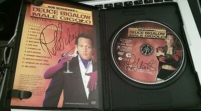 Deuce Bigalow Black Book Edition 2 Autographs Rob Schneider RARE