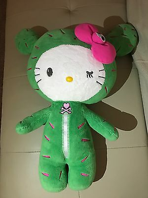 Tokidoki x Hello Kitty Sanrio Cactus Sandy Plush Large! Very Rare New!