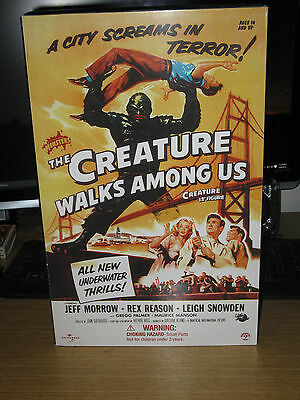 """sideshow THE CREATURE WALKS AMONG US 12"""" figure [NEW] never removed from box"""