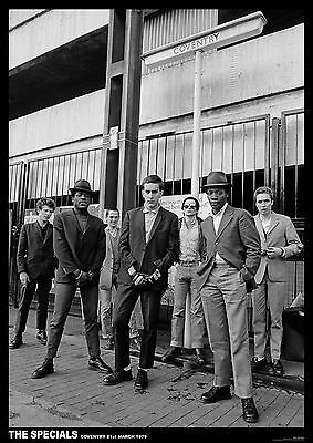"The Specials Coventry 1979 Poster  23.5"" x 33"" UK import Two Tone Ska"