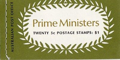 1969 Stamp Booklet $1 Prime Ministers G69/3 (Stott's) Stamps Muh