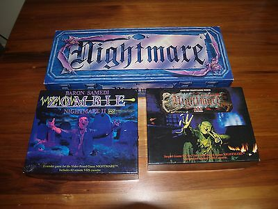 NIGHTMARE ORIGINAL VIDEO GAME + Expansion packs 2 & 3 complete