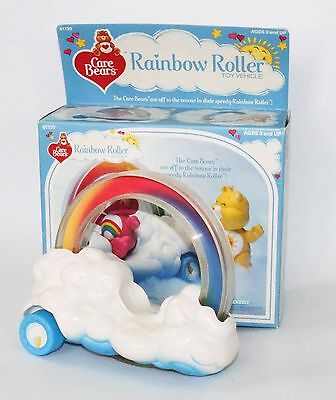 Care Bears Rainbow Roller Cloud Car Toy Vehicle by Kenner 1980s vintage