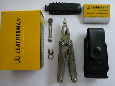 Leatherman Charge TTI Multi Tool Multitool Knife +Leather Sheath Free Post