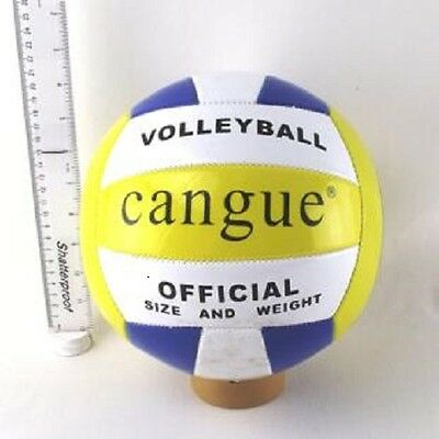 20Cm Regulation Size 5 Volleyball - Official Size - Beach Sand Outdoor Indoor