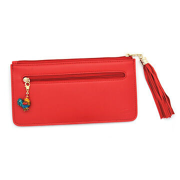 Feng Shui Red Rooster Wallet