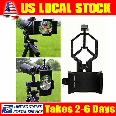Lightweight Phone Holder Mount For Eyeskey Binocular Monocular Spotting Scope