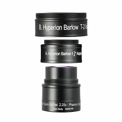 Baader 2.25x Hyperion Zoom Barlow Lens, London