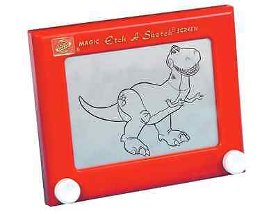 Drawing Toy Classic Etch a Sketch Travel Size Portable with 2 Knobs Classic Toy