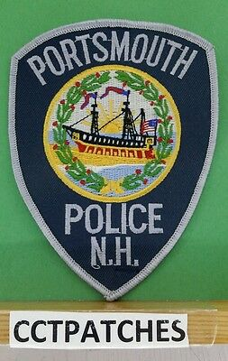 Portsmouth, New Hampshire Police Shoulder Patch Nh