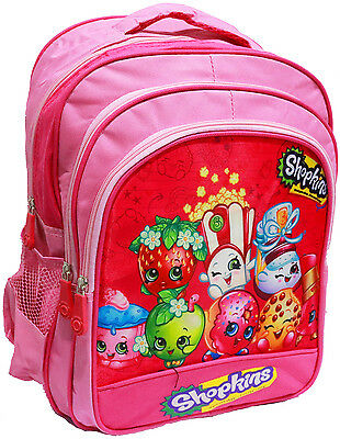 New Large Kids Backpack School Bags Shopkins Girls Picnic Christmas Gifts