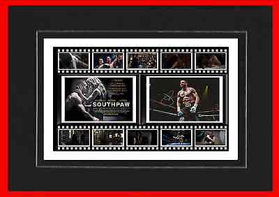 Southpaw Movie Mounted Display
