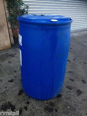 210L Blue Plastic Barrel Container Butt For Water/Bio Diesel