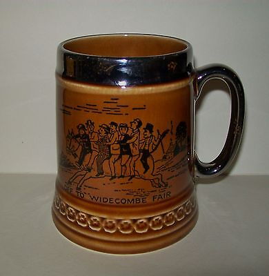 """Vintage Lord Nelson """"off To Widecombe Fair - Bill Brewer"""" Mug / Stein"""