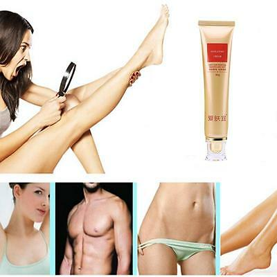 Powerful Semi-Permanent Hair Removal Cream Stop Hair Growth Inhibitor Removal