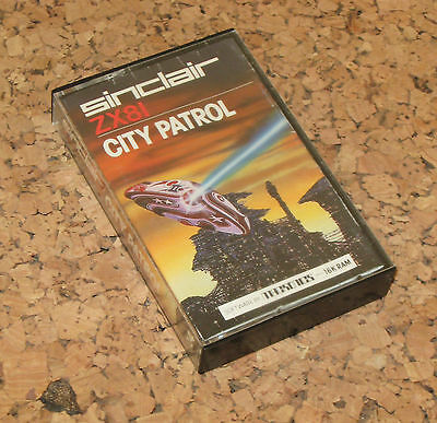 CITY PATROL for the sinclair zx81