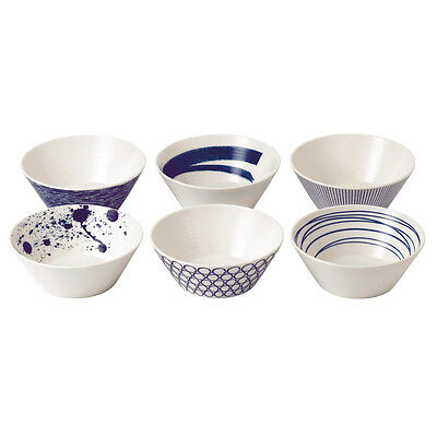 NEW Royal Doulton Pacific Cereal Bowl Set 15cm/6pce