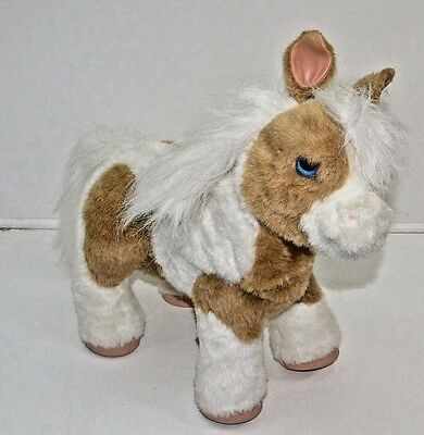 FurReal Friend Baby Butterscotch Talking Toy Horse Pony Interactive Toy Fur Real
