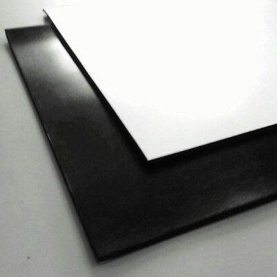 Neoprene Black Solid Rubber Adhesive Back Sheet Various Sheet Sizes/ Thicknesses