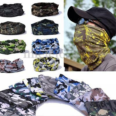 Motorcycle Balaclava Neck Tube Scarf Snood Face Mask Warmer shawl Bandana