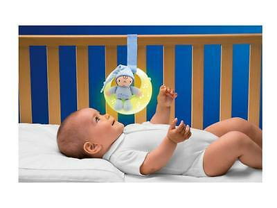 Chicco Musical Nightlight First Dreams Goodnight Moon Blue Baby Boy Cot Toy NEW